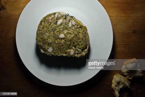 slice of farci poitevin ( france) - シャラント ストックフォトと画像