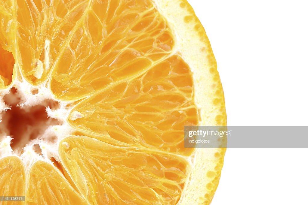 Rodaja de naranja fresco : Foto de stock