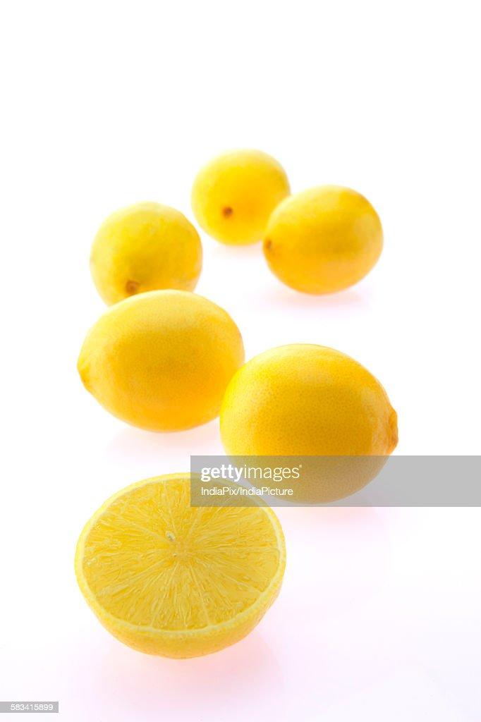 Slice of lemon : Stock Photo