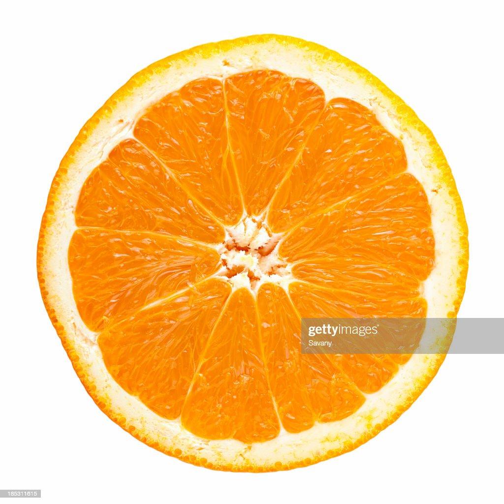 Slice of orange : Stock Photo
