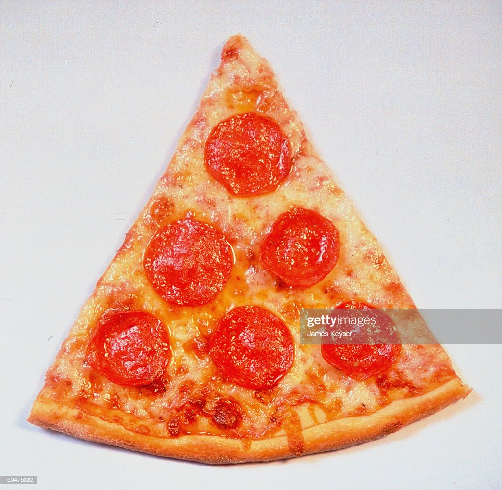 Slice of pepperoni pizza.  (Photo by Jam : News Photo