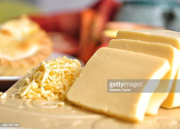 Sliced and Grated Cheese