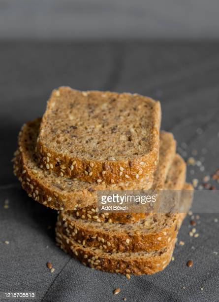 sliced bread - gluten free bread stock pictures, royalty-free photos & images