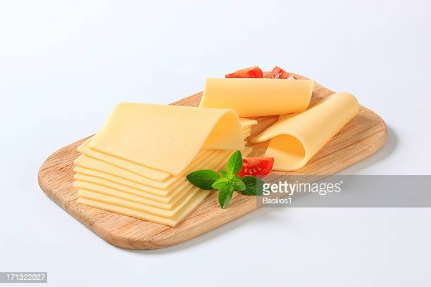 sliced cheese - slice stock pictures, royalty-free photos & images