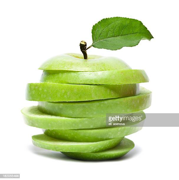 Sliced Green Apple