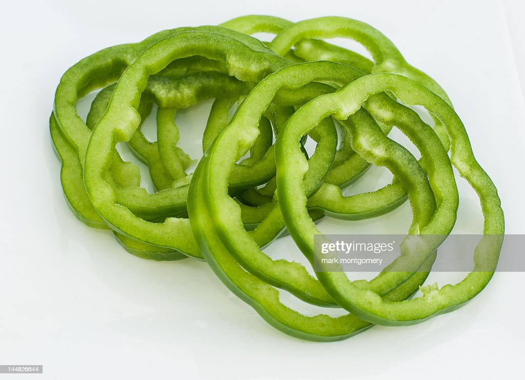 sliced green s