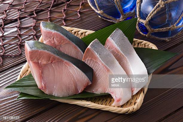 Sliced Japanese Amberjack