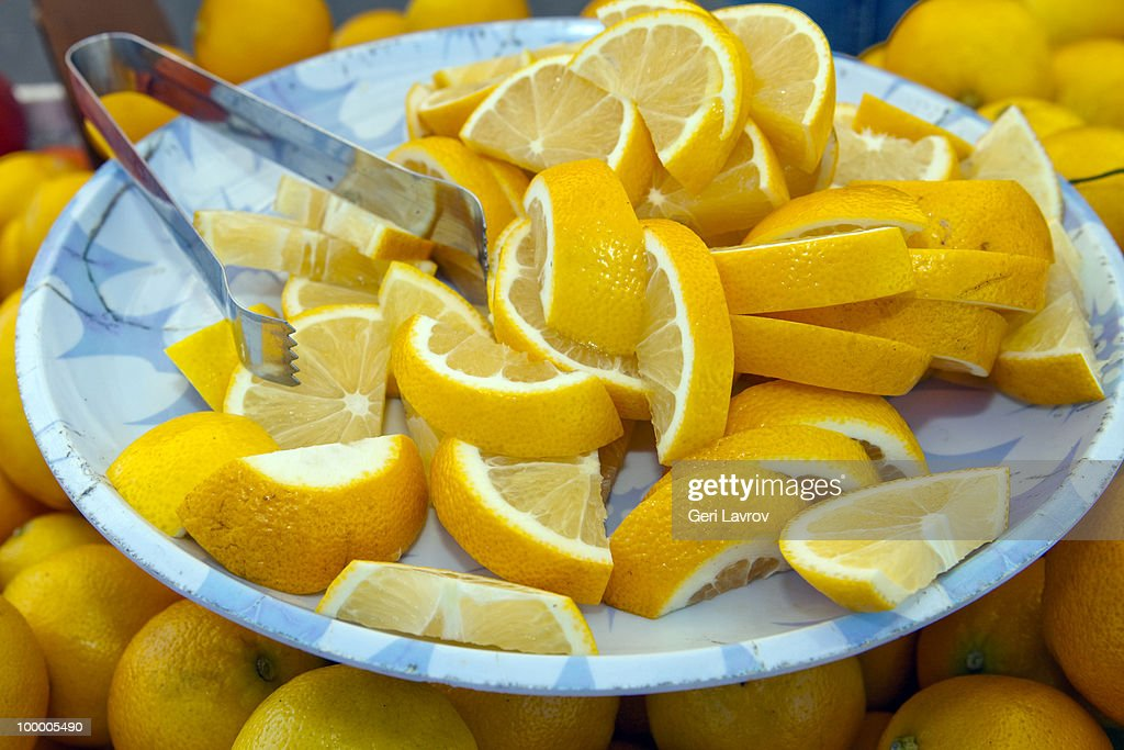 Sliced lemons : Stock Photo