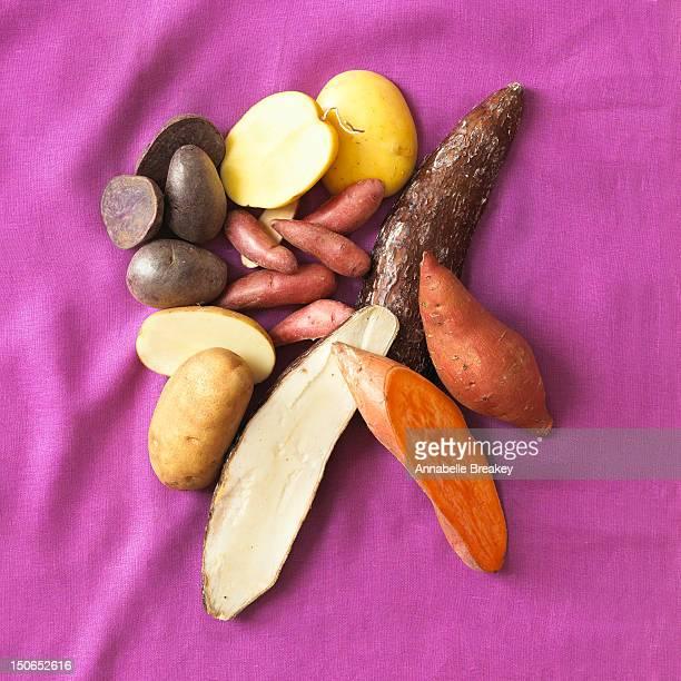 Sliced Potatoes Still Life