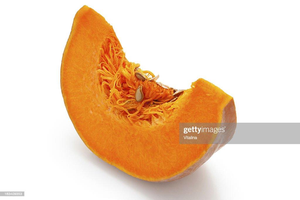 Sliced Pumpkin. : Stock Photo