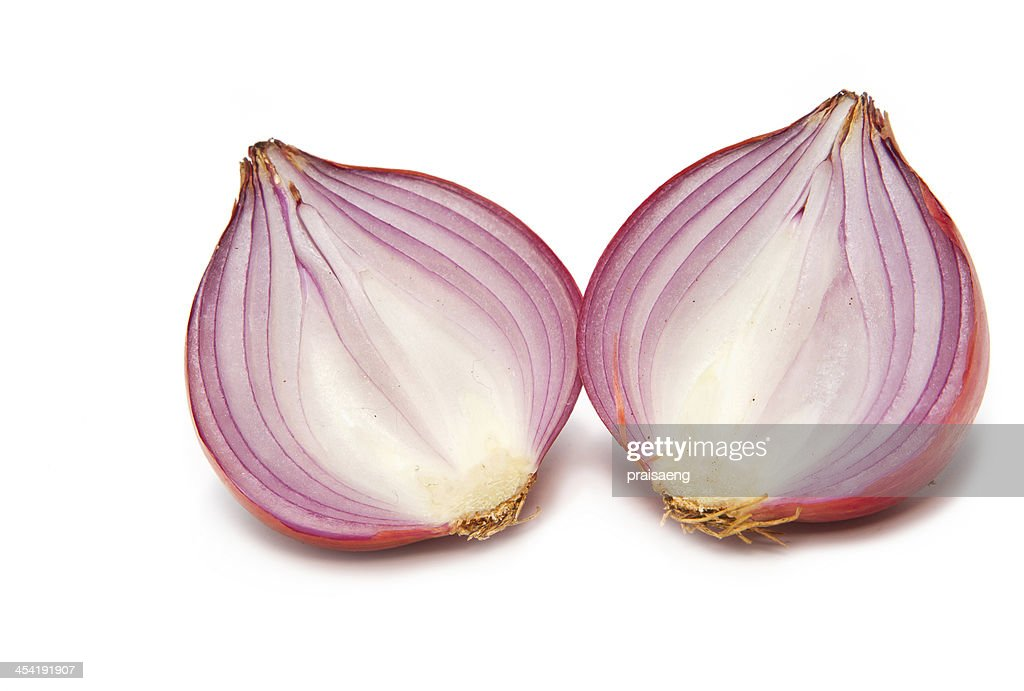 Sliced shallot : Stock Photo