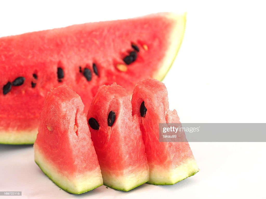 Sliced watermelon : Stock Photo