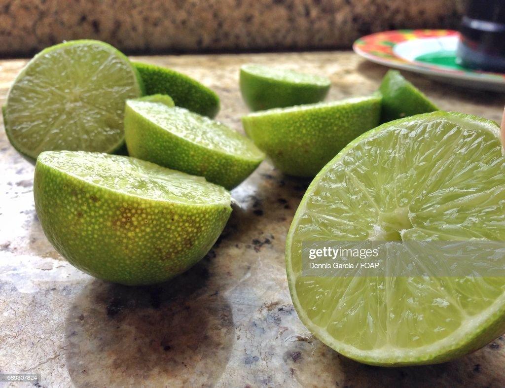 Slices of a lemonade : Stock Photo