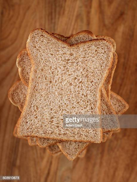Slices of Brown Bread