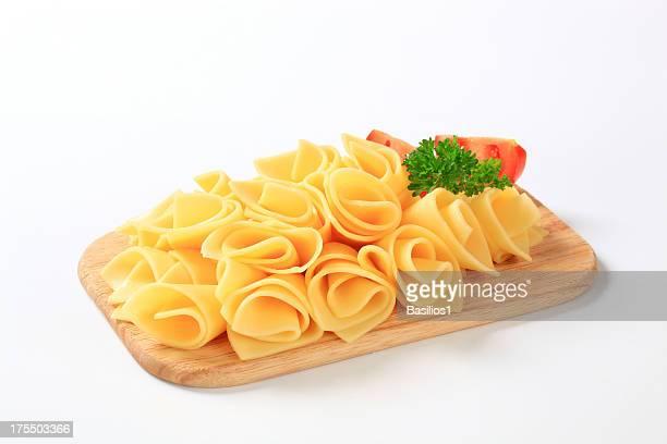 Einer Scheibe Käse