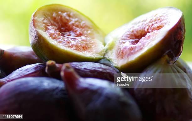 slices delicious fresh figs