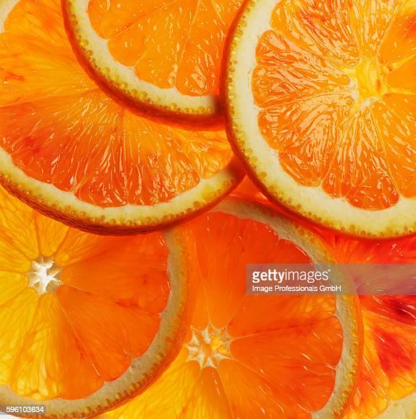 slices of orange - 果肉 ストックフォトと画像
