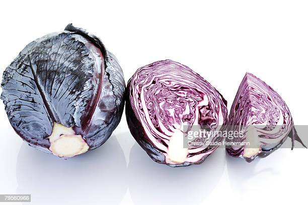 Red cabbage, close-up