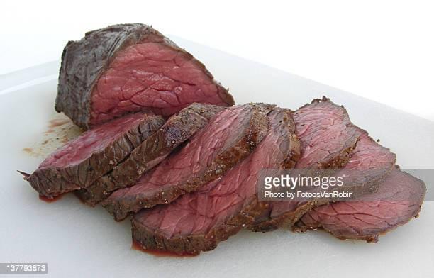 Slices roast beef