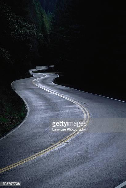 Slick Highway 299 After Rain