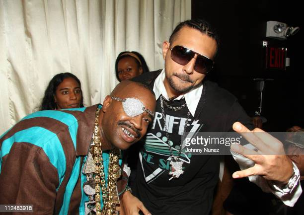 Slick Rick and Sean Paul during Kelis Throws Nas a Surprise Birthday Party with a Special Performance September 13 2006 at Canal Room in New York New...