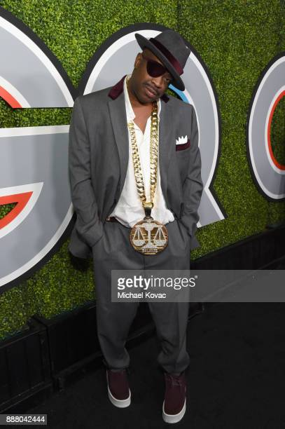 Slick Rick attends the 2017 GQ Men of the Year party at Chateau Marmont on December 7 2017 in Los Angeles California