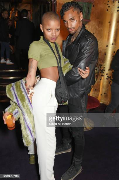 Slick Woods and Joshua Williams attend the 'Can't Stop, Won't Stop: A Bad Boy Story' dinner hosted by Sean 'Diddy' Combs & Naomi Campbell presented...