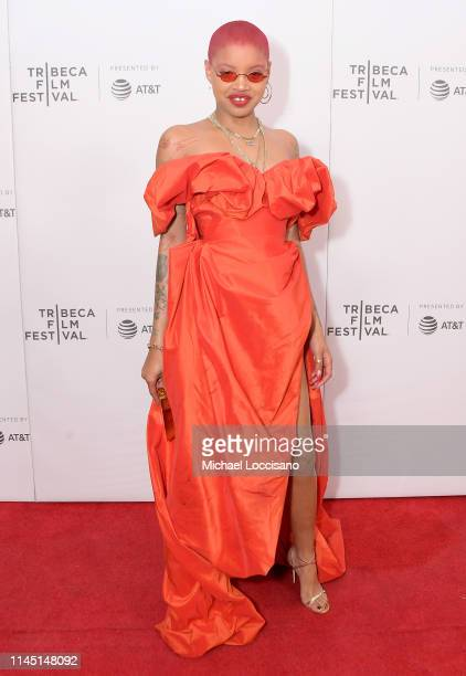 Slick Woods attends the Goldie 2019 Tribeca Film Festival at Village East Cinema on April 25 2019 in New York City