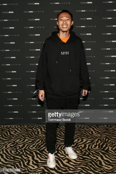 Slicksumo arrives as Fashion Nova Presents Party With Cardi at Hollywood Palladium on May 8 2019 in Los Angeles California