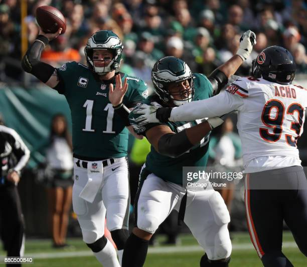 That happened 7 mustread stats from Week 12 of the NFL The first Eagles quarterback CARSON WENTZ threw three touchdown passes in Sunday's 313...