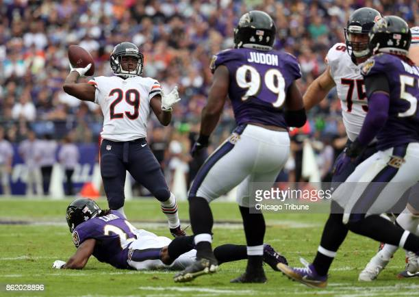 Chicago rookie running back TARIK COHEN threw a 21yard touchdown pass to tight end Zach Miller in the Bears' 2724 overtime win at Baltimore Cohen is...