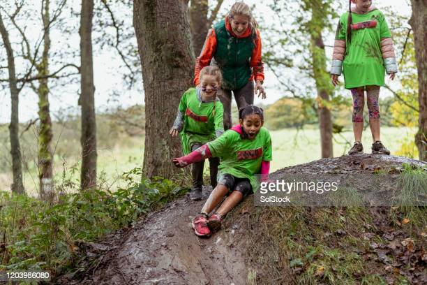 sliding in the mud - endurance race stock pictures, royalty-free photos & images