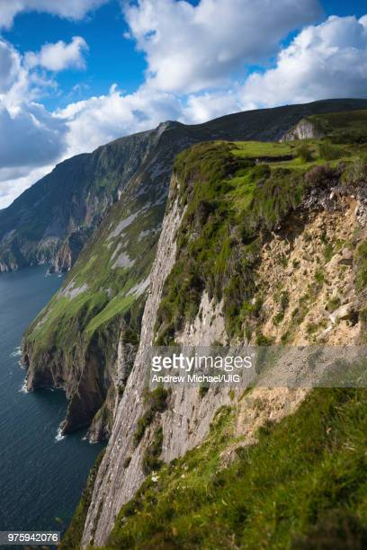 Slieve League cliffs, on the west coast of Donegal, Republic of Ireland.