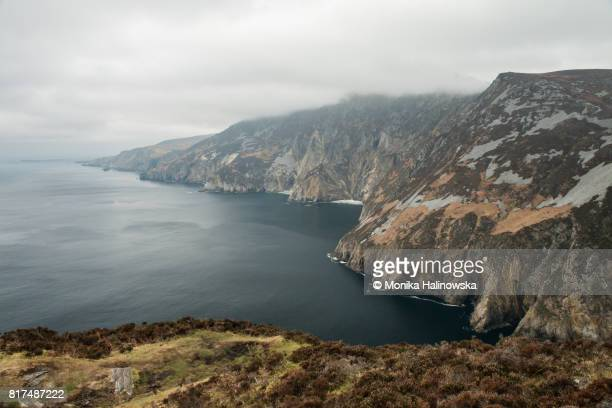 Slieve League Cliffs, Slieve Liag, County Donegal, Ireland