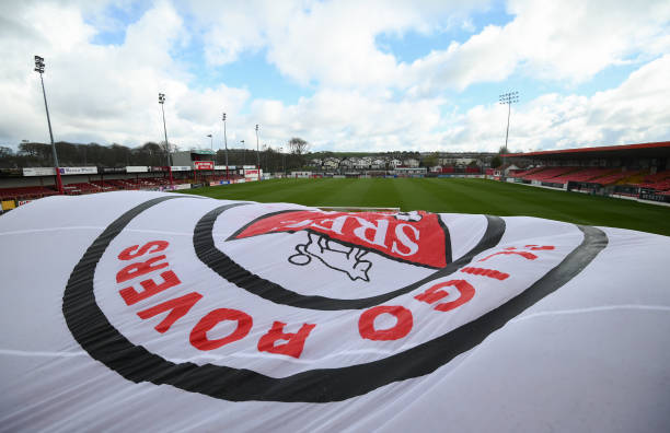 IRL: Sligo Rovers v Shamrock Rovers - SSE Airtricity League Premier Division