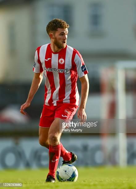 Sligo , Ireland - 24 October 2020; Lewis Banks of Sligo Rovers during the SSE Airtricity League Premier Division match between Sligo Rovers and Cork...