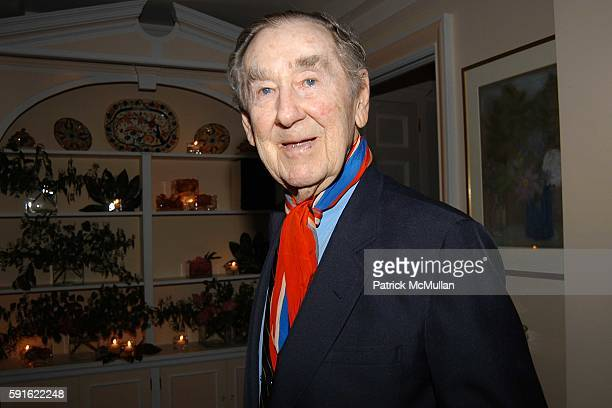 Slim Aarons attends the Klauer family celebrates the marriage of Kristina Stewart and Arthur Ward at Private Residence on June 16 2005 in New York...