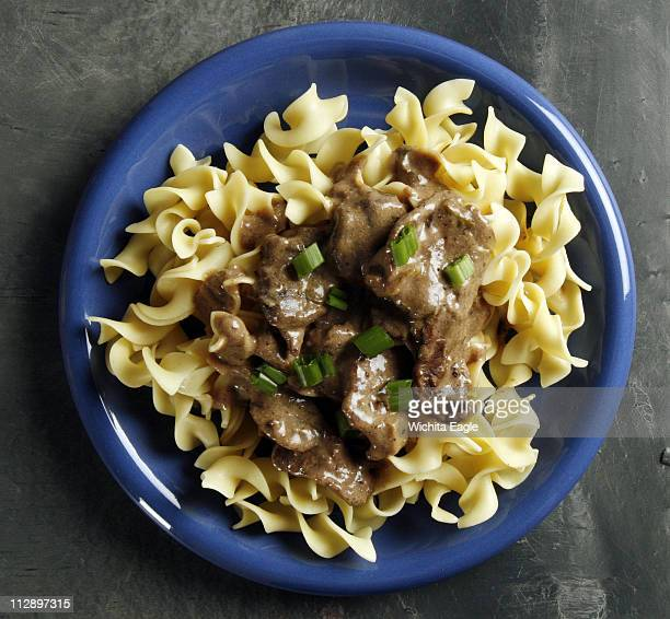 Slim down your beef stroganoff by using a fraction of the amount of halfandhalf to make the creamy sauce