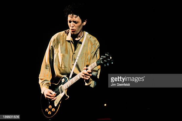Slim Dunlap with The Replacements performs at the Orpheum Theatre in Minneapolis Minnesota on February 6 1991