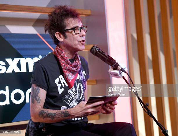 Slim Jim Phantom speaks during the Press Conference with Mötley Crüe Def Leppard and Poison announcing 2020 Stadium Tour on December 04 2019 in...