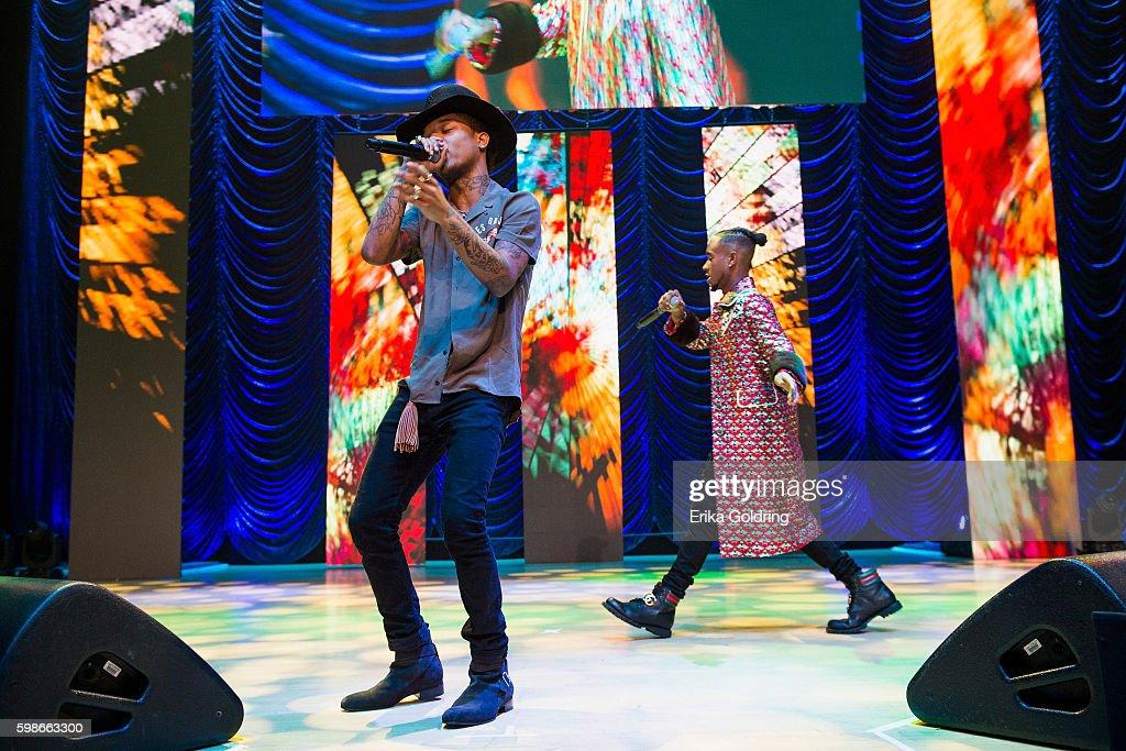 Slim Jxmmi and Swae Lee of Rae Sremmurd perform at the 2016 BMI R&B/Hip-Hop Awards at Woodruff Arts Center on September 1, 2016 in Atlanta, Georgia.