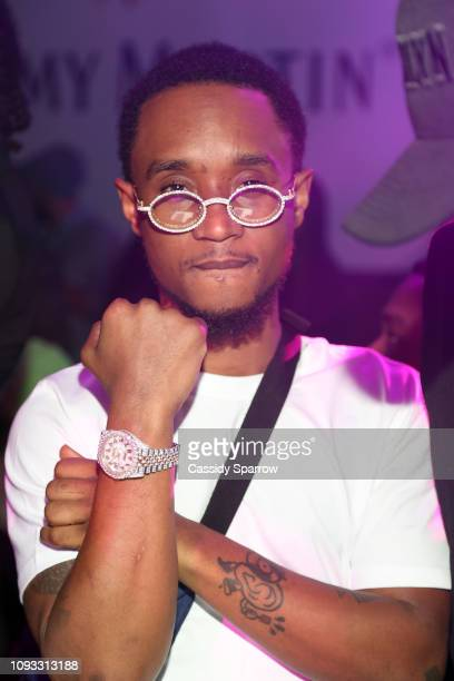 Slim Jxmmi attends TAO Group's Big Game Takeover presented by Tongue Groove on February 2 2019 in Atlanta Georgia