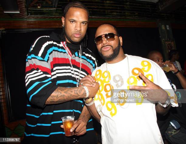 Slim Thug and Ed Lover during TI in Concert at The House of Blues Los Angeles June 27 2006 at House of Blues Los Angeles in Los Angeles California...