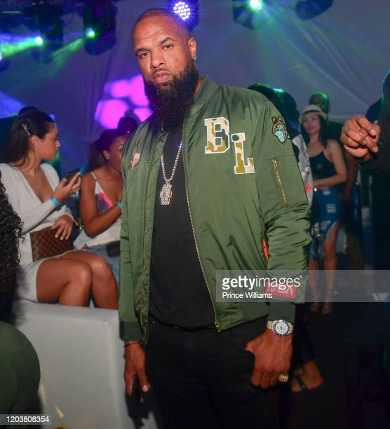 Slim Thug attends The Big Game Weekend at The Dome Miami on February 2 2020 in Miami Florida