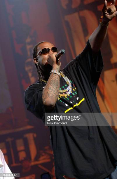 Slim Thug during Boost Mobile RockCorps Concert Tickets for community service at The Fox Theater in Atlanta Georgia United States