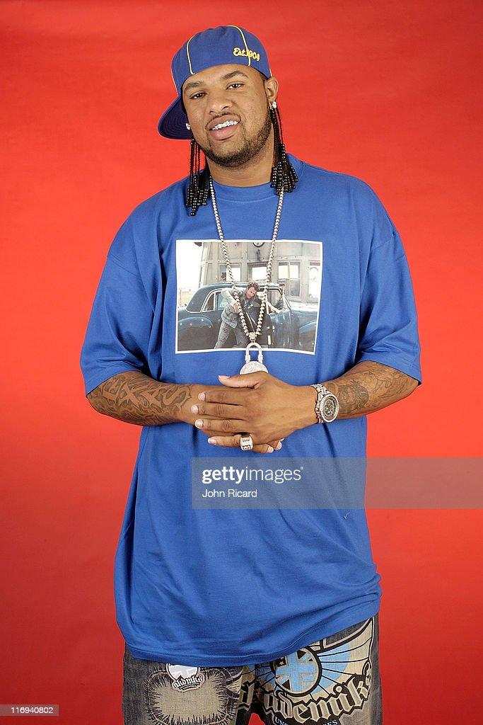 Slim Thug Portrait Session - October 20, 2004