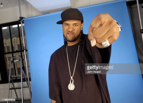 Slim Thug during Slim Thug Portrait Session October 20 2004 at John Ricard Studio in New York City New York United States