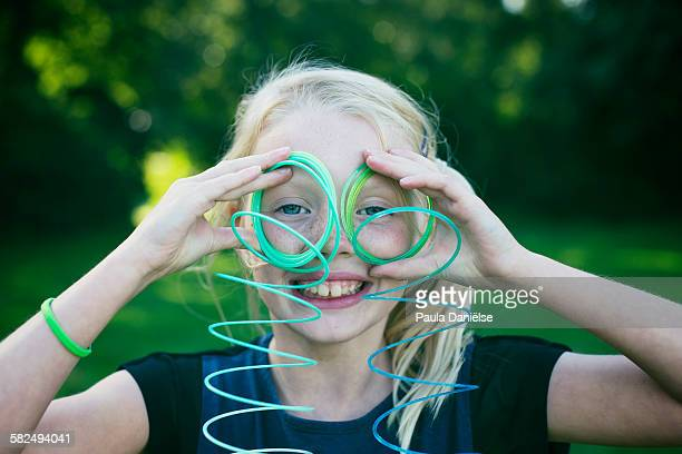 Slinky toy glasses