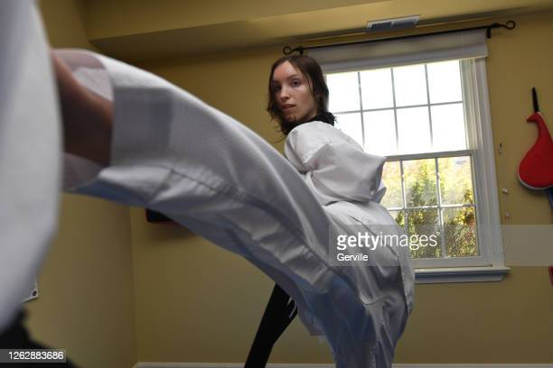 slip side kick - gerville stock pictures, royalty-free photos & images