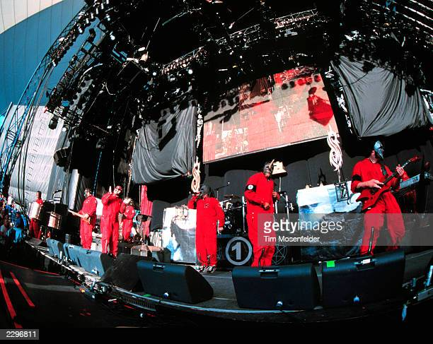 Shoreline Amphitheater in Mountain View Calif on June 29th 2001 Image By Tim Mosenfelder/Getty Images